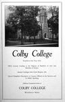 Colby Alumnus: Colby College Advertisement (1930)