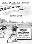Colby Alumnus: Colby Weekend Advertisement (1950)