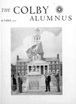 Colby Alumnus Cover: October 1950