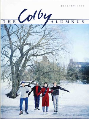 Colby Alumnus Cover: January 1988