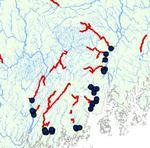 Atlantic Salmon Habitat on Maine's Rivers and Streams