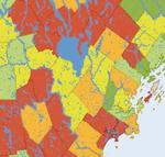 Changing Property Values in Maine 1999-2008 by Beth Darling
