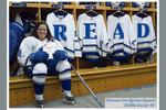 Women's Ice Hockey Captain Caitlin Leahy, '06
