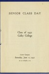13a. Senior Class Day (Page 1)