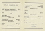 15b. Colby College Choir (Page 2)