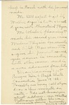 19c. Letter to Mrs. Porter (Page 3)