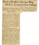 26. Porter Brothers Design Map of R.C.I. and Junior College