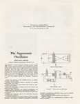 31a. The Supersonic Oscillator (Page 1)