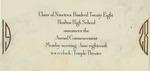 11. Class of 1928, Houlton High School