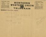 20. Bern First Prize Telegram