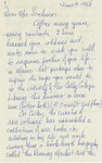 22a. Letter to Mrs Scribner (Page 1)
