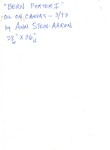 04b. Bern Porter I (Back) by Bern Porter and Ann Stein-Aaron