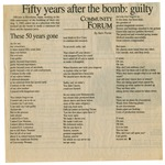 28. Fifty Years After the Bomb: Guilty