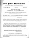 Bern Porter International: Volume 2 Number 4 (August, 1998)