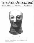 Bern Porter International: Volume 4 Number 8 (August, 2000)