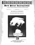 Bern Porter International: Volume 5 Number 16 (August 15, 2001)