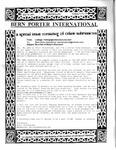 Bern Porter International: Volume 5 Number 13 (July 15, 2001)