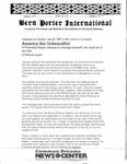 Bern Porter International: Volume 5 Number 15 (August 1, 2001)