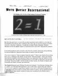 Bern Porter International: Volume 6 Number 7 (April 1, 2002)