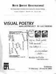 Bern Porter International: Volume 6 Number 16 (August 10, 2002)