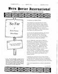 Bern Porter International: Volume 5 Number 20 (October 15, 2001)