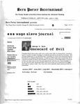 Bern Porter International: Volume 6 Number 15 (August 3, 2002)