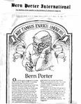 Bern Porter International: Volume 6 Number 13 (July 1, 2002) by Bern Porter, Sheila Holtz, and Natasha Bernstein