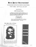 Bern Porter International: Volume 6 Number 17 (August 17, 2002)