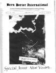 Bern Porter International: Volume 5 Number 8 (April 15, 2001)