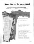 Bern Porter International: Volume 5 Number 21 (November 1, 2001)