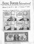 Bern Porter International: Volume 5 Number 19 (October 1, 2001)