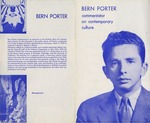 15a. Bern Porter Commentator on Contemporary Culture (Page 1) by Bern Porter