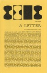 24a. A Letter - November 1966 (Page 1)