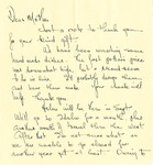 34a. Letter to Mother from Bern (Page 1)