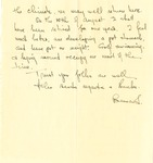 34b. Letter to Mother from Bern (Page 2) by Bern Porter