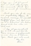 35b. Letter to Bern's Mother and Father from Helen (Page 2) by Bern Porter and Helen Porter
