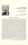 02a. A Letter - September, 1967 (Page 1)