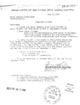Letter from Bern Porter to the Civil Service Commission
