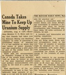 09. Canada Takes Mine to Keep Up Uranium Supply