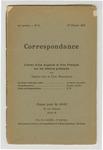 Lettres d'une anglaise et d'un français sur les affaires présentes par Vernon Lee et Paul Desjardins